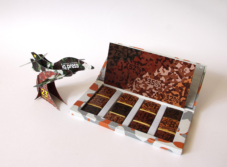 Подарок на 23 февраля шоколад